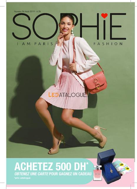 catalogue sophie paris maroc aout 2019
