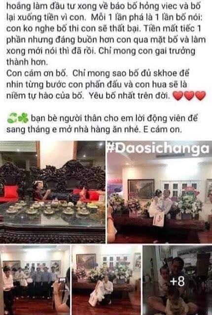 Tiểu thư Thanh Thảo con ông Nguyễn Mạnh Thắng khoe mỗi năm phá 20 tỉ trên Facebook 4