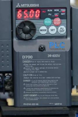 maximum frequency Mitsubishi D700
