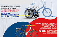 """Logo Concorso LaFeltrinelli """"Storie a due ruote"""" : in palio 810 biciclette Atala"""