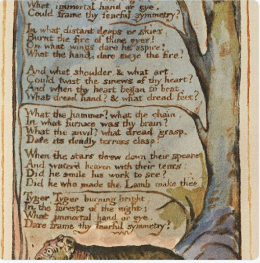 William Blake, Born this day in 1757