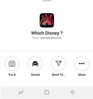 how to get disney filter instagram