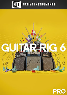 Cover do plugin Guitar Rig 6 PRO v6.1.1 - Native Instruments