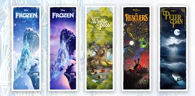 New York Comic Con 2021 Exclusive Classic Disney Dreamland Series Prints by Ben Harman x Bottleneck Gallery