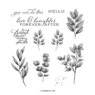 Forever Fern Cling stamp set from Stampin' Up!