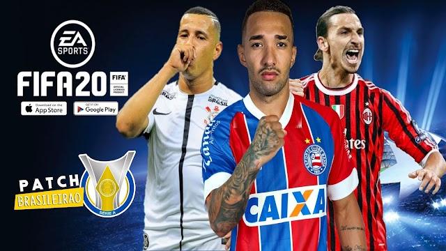 FIFA 20 V8 PATCH BRASILEIRÃO!!
