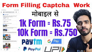 CaptchaTypers Data entry work Payment Proof