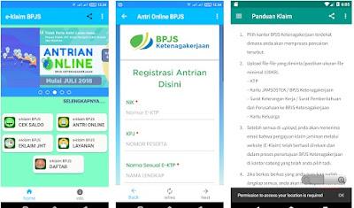 Cara claim BPJS menggunkan aplikasi