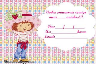 Tema De Festa Infantil Da Moranguinho Pediatra Virtual