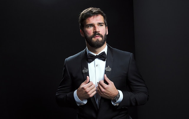 FIFA The Best Award 2019: Alisson Becker Best Goalkeeper