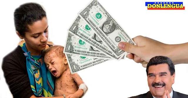 Régimen entrega Mega-Bono de 4 miserables dólares por motivos de Carnaval