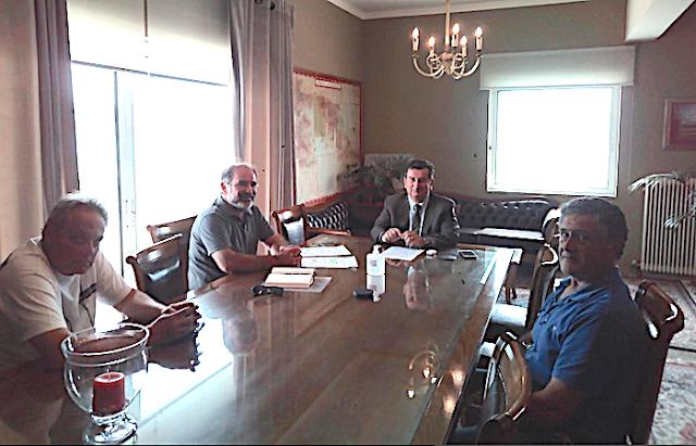 Τα προβλήματα των επιχειρήσεων και τα έργα υποδομής συζήτησαν η ΟΕΒΕΑ με τον Αντιπεριφερειάρχη Αργολίδας