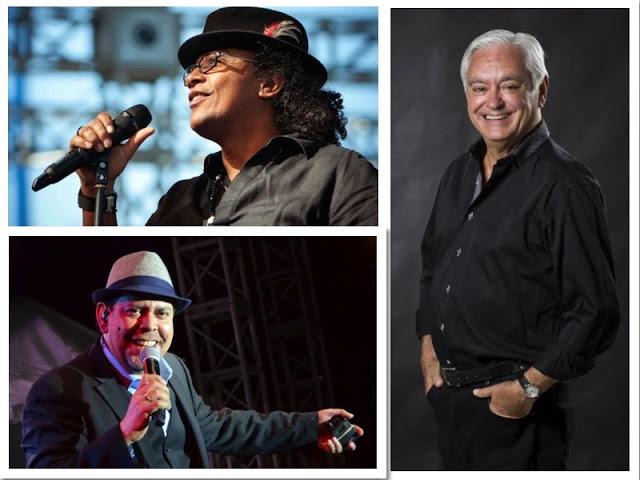 Fernando Villalona, Sergio Vargas y Cuquín Victoria