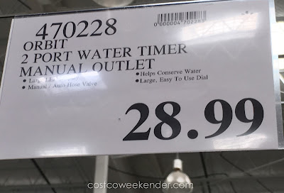 Deal for the Orbit Watering Timer at Costco