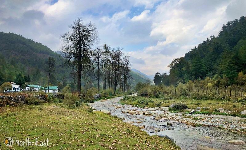 Shergaon Village in Arunachal Pradesh
