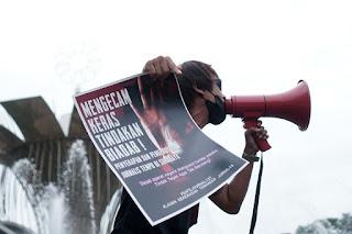Ratusan Jurnalis di Palembang Kecam Kekerasan Terhadap Jurnalis 2