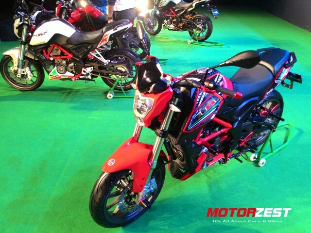 Benelli TNT 25 India Launch