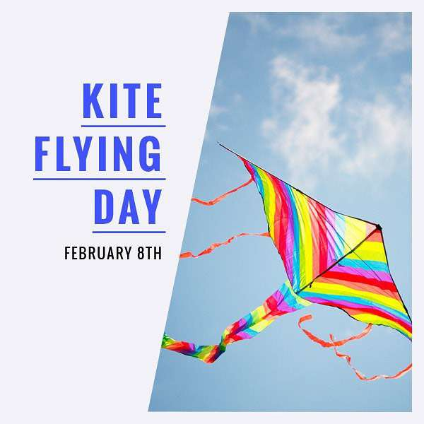 National Kite-Flying Day Wishes Photos