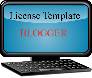 Cara Membuat License Blogger Template
