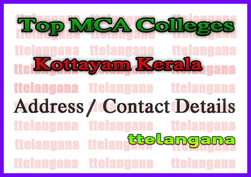 Top MCA Colleges in Kottayam Kerala