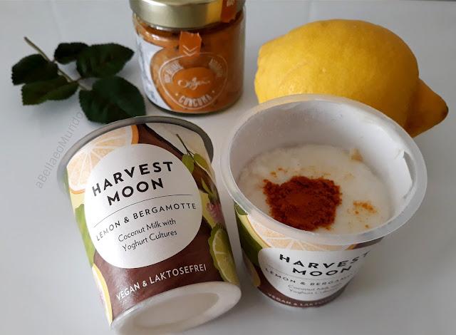 harvest moon - vegan iogurt review - a Bella e o Mundo