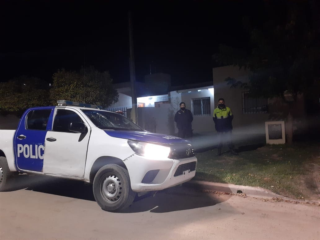 Procedimiento policial Balcarce