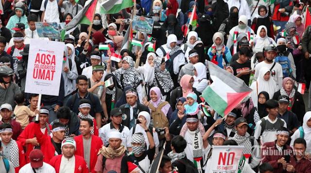 Ini Himbauan MUI Untuk Peserta Aksi Bela Palestina
