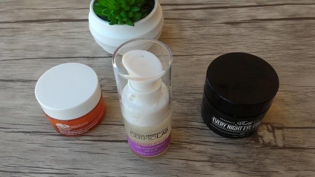 Rutina Facial - Contornos de ojos de Origins, Dermolab y Boddy's Pharmacy Skincare