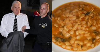 Φασολάδα το πρώτο γεύμα του Γιάννου Παπαντωνίου στη φυλακή