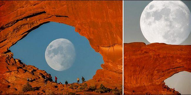 Rock Arch In Utah
