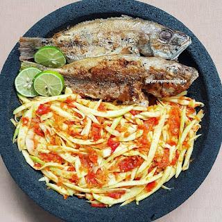 Ide Resep Masak Sambal Mangga Ikan Goreng
