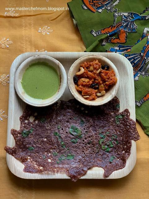 Radish Greens Chutney | Mullangi Keerai Chutney | Mullangi Aakulu Chutney