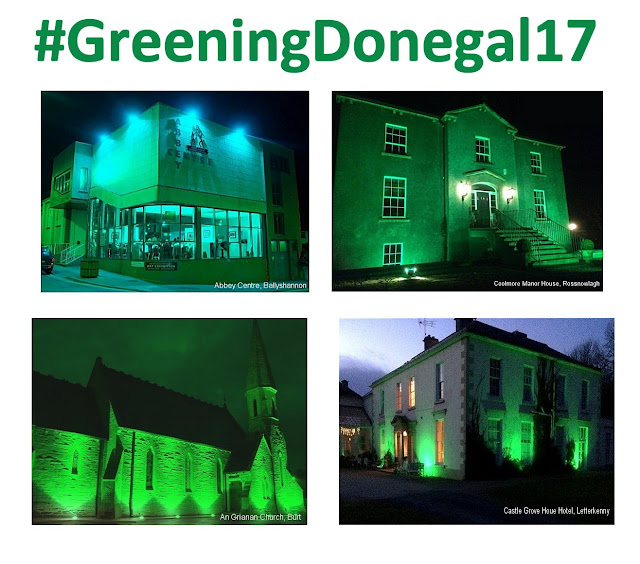 #GreeningDonegal17 Donegal Tourism Ireland www.GoVisitDonegal.com