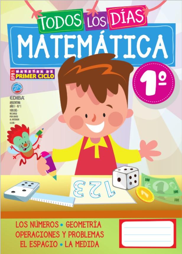 Material educativo matemáticas 1 grado