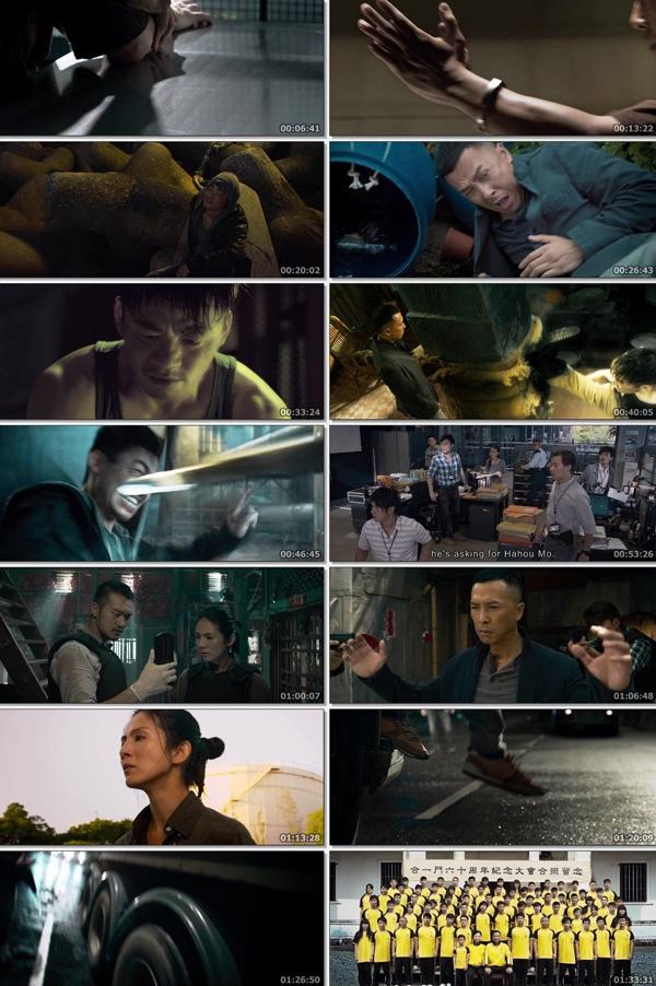 Download Kung Fu Jungle 2014 Dual Audio ORG Hindi 480p BluRay 350MB ESubs movie