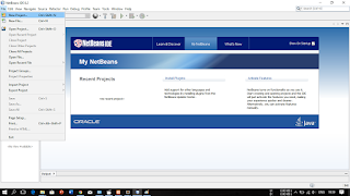 Buka aplikasi netbeans (2)