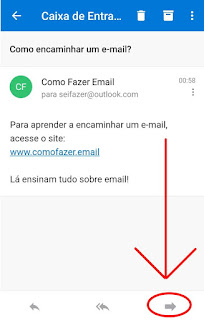 Como ecaminho e-mail no Outlook