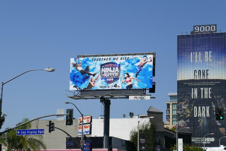 American Ninja Warrior 2020 billboard