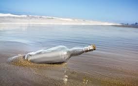 Hoy el post lo hace Teodoro Boot: Mensaje en una botella
