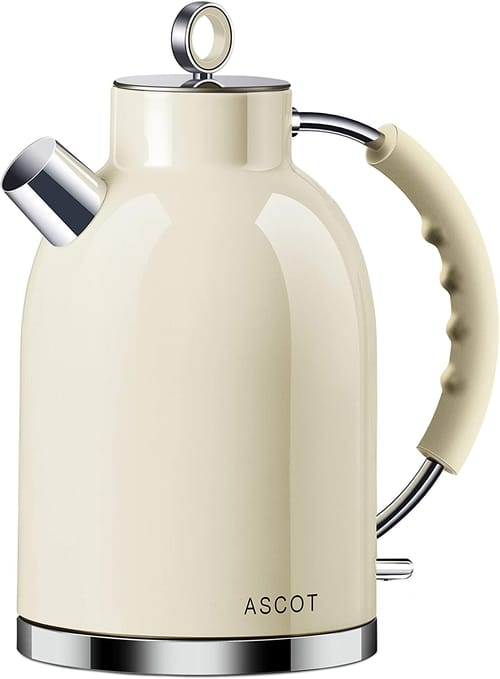 ASCOT Stainless Steel Electric Tea Kettle