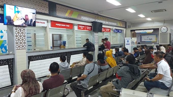 Target Pendapatan Samsat Cinere Naik Jadi Rp.328 Miliar