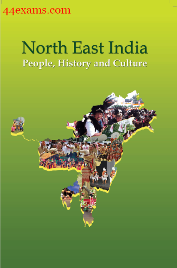 NCERT History and Culture North East India : For UPSC Exam PDF Book