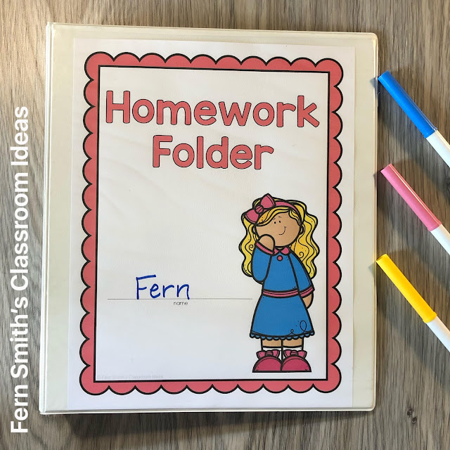 Click Here to Download this Goldilocks and the Three Bears Themed Student Folder Covers Today!