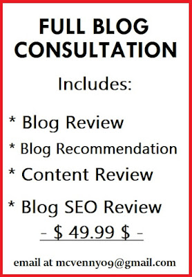 veneric flores blog service offered full blog consultation