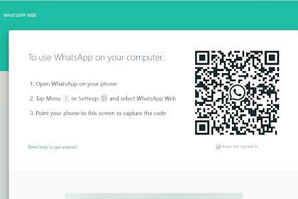 Cara Menggunakan WhatsApp Web pada Laptop/PC