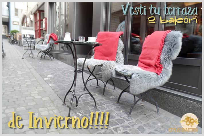 inspiracion callejera - sillas invernales con toda la onda