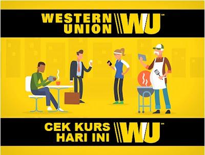Cara Mengecek Kurs Nilai Tukar Western Union (WU) Kurs Western Union Today (kurs rupiah, kurs dollar)