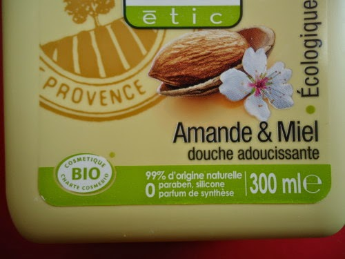 Gel douche amande et miel so bio étic