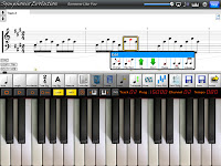 iPad piano music app