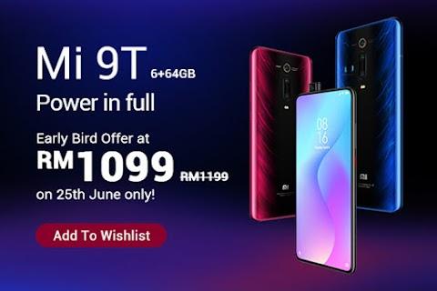 Tawaran Menarik Lazada - Xiaomi Mi 9T Hanya RM1099